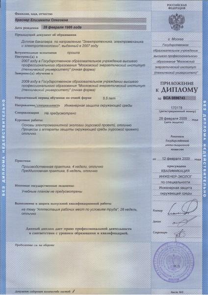 Отчет по преддипломной практике электрика